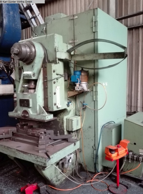 Eccentric Press - Single Column BETZ EZL 135 Karl Günter Wirths GmbH Ennepetal